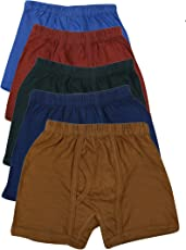 Zacharias Boy's Pack of 5 Trunk Underwear Multicolor