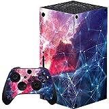 PlayVital Adesivo Skin per Xbox Series X Console&Controller Sticker Decal Cover Pelle Vinile per Xbox Series X-Galassia Spazi