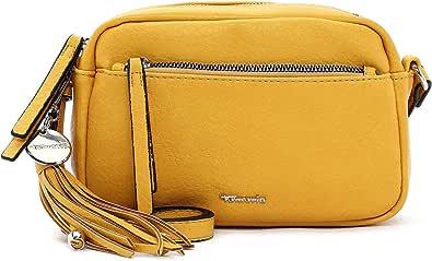 Tamaris Umhängetasche Adele 30472 Damen Handtaschen Uni yellow 460 One Size