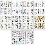 Nsiwem Autocollant Bullet Journal 60 Feuilles Autocollants Scrapbooking Bullet Journal Stickers Autocollants de Décoration St