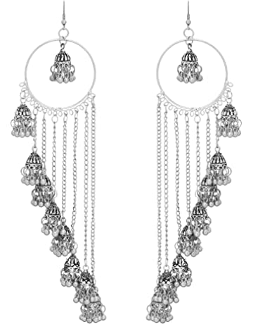 5fc6ca233b0ff Earrings for Girls: Buy Earrings for Girls Online at Best Prices in ...
