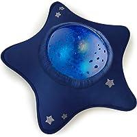 Veilleuse Musicale et Lumineuse - Enfant et Bébé - Peluche en Forme d'Etoile - Projecteur Aquatique - Nomade - Lampe…