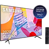 "Samsung QLED 4K 2020 50Q60T - Smart TV de 50"" con Resolución 4K UHD, con Alexa integrada, Inteligencia Artificial 4K Wide Vie"