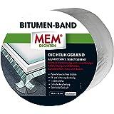 MEM bitumen band 10 cm x 10 m aluminium