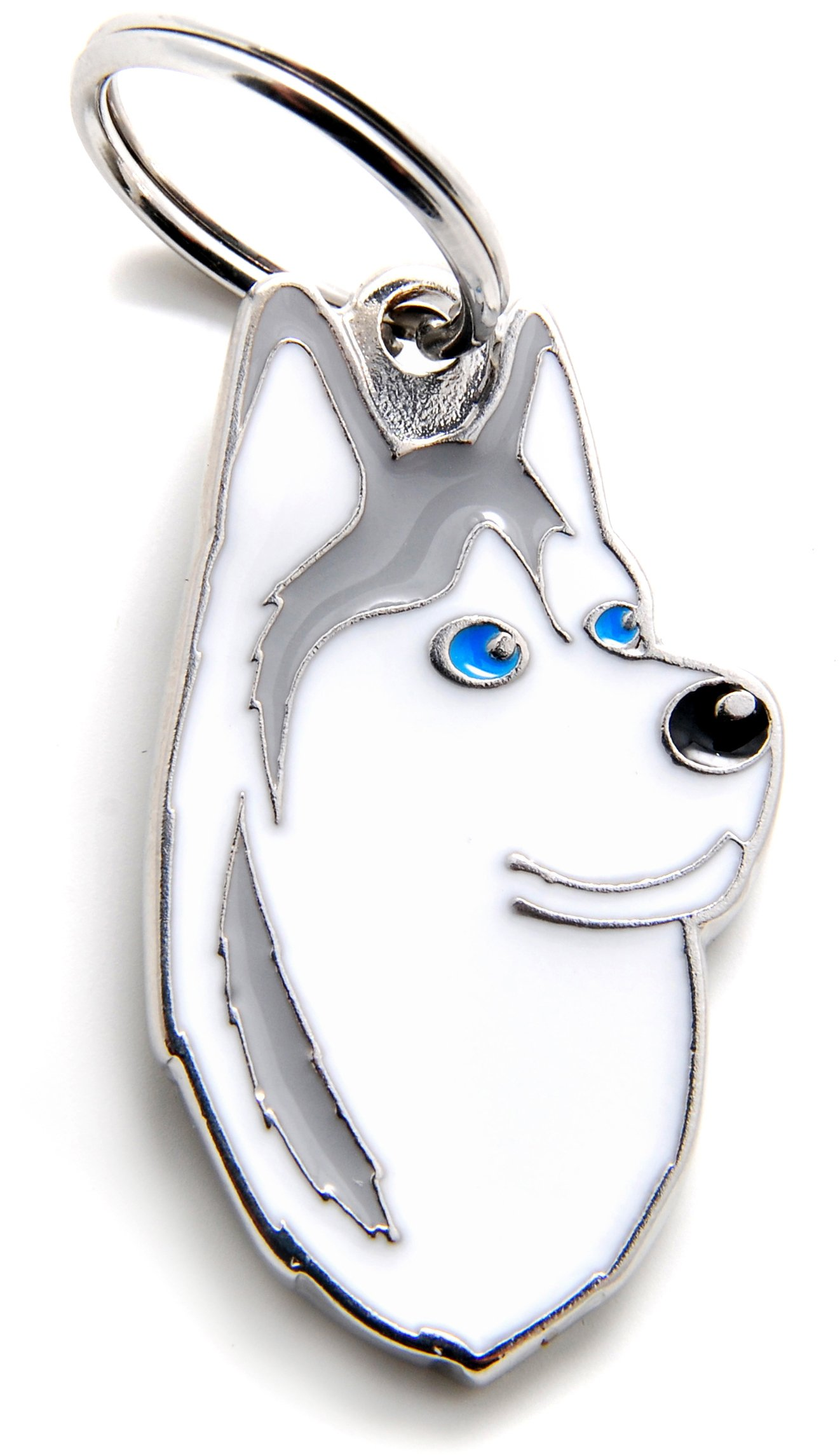 My Family tag Siberian Husky plate dogs free engraving custom cats