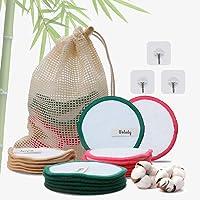 Dischetti Struccanti Lavabili Bambù Velluto Wolady 16 Dischetti Struccanti Riutilizzabili Bamboo Cotone Velluto…
