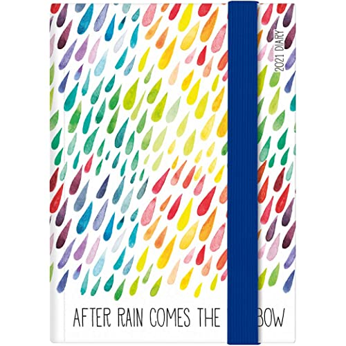 Legami - Agenda Settimanale, 12 Mesi, 2021, Mini, Motivi: rain