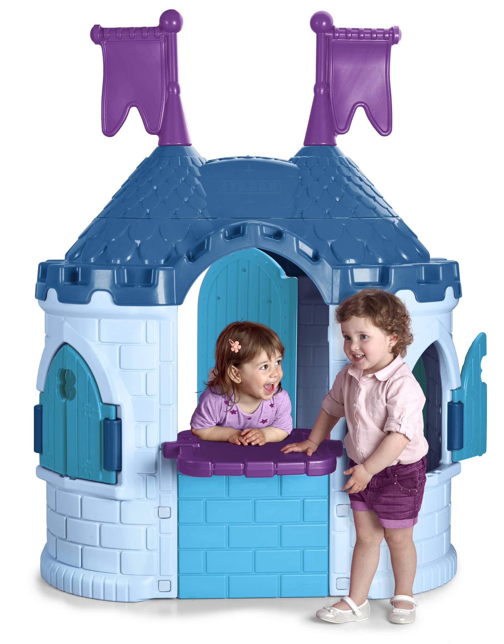 FEBER – Castillo de Princesas Disney Frozen 2, niñas de 3 a 10 años (Famosa 800012240) , color/modelo surtido