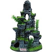 Jainsons Pet Products® Desolate Tower Aquarium Decoration Ornaments for Fish Tank