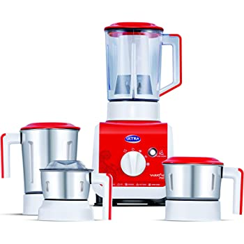 Elgi Ultra Vario+  750-Watt Mixer Grinder (Bright Red)