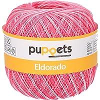 Unbekannt Puppets Eldorado Fil à Crochet 100% Coton Multicolore 4578010-00038
