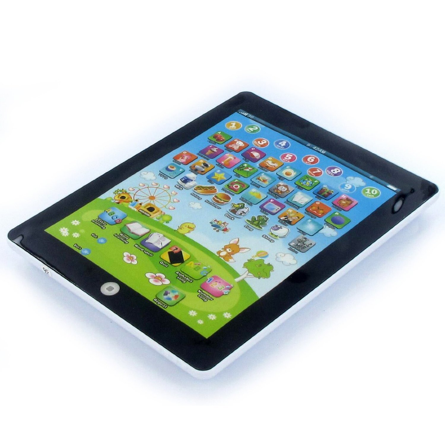 My First Tablet puter Toy White Pink Blue Blue Amazon