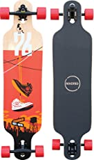 """Madrid Longboard Complete Trance 9.625"""" x 39"""" Shoes Drop-Thru Complete"""