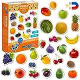 Magnet frigo enfant MAGDUM Fruit enfant- 25 Magnet enfant - Frigo jouet - Frigo enfant jouet - Aimant frigo enfant - Jouet le