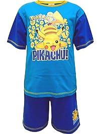 Pijamas de Estilo Short de Pokémon para niños