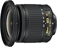 Nikon AF-P DX Nikkor 10-20mm f/4.5-5.6G VR F/4.5-29 Fixed Zoom Camera Lens (Black)