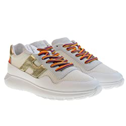 HOGAN Zapatos Mujer Zapatillas Bajas HXW3710AP24KKP4085 H371 Interactivo 3AL Lunette Lluvia Talla 37 5 Color Blanco