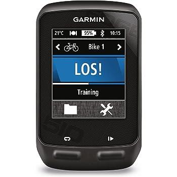Garmin Edge 510 - GPS Bike Computer Touchscreen, Comunicazione ANT+ e Bluetooth, Colore Nero