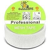 Glasvezel Mesh Tape, GeckoBro hoge sterkte zelfklevende glasvezel verbinden en pleisteren Scrim Tape voor het vullen van sche