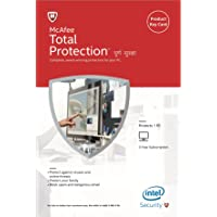 McAfee Total Protection - 1 PC, 3 Years (Activation Key Card)