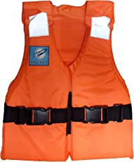 Jilani Rocket Kids Life Jacket Personal Flotation Safety Life Jacket Weight Capacity Up to 30Kg, Age 5- 10 Years
