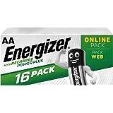 Energizer Piles Rechargeables AA, Recharge Power Plus, Lot de 16