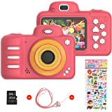 Vannico Camara Fotos, Camara para Niños Cámaras de Video para niños Cámara Digital 8MP 720P Juguetes para niños y niñas de 3-