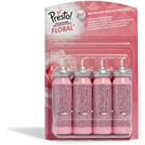 Marca Amazon - Presto! Recargas para ambientador Floral minispray