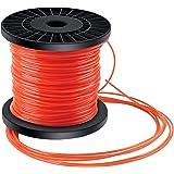Forever Speed Hilo desbrozadora Nylon Trimmer Strimmer Line Cable String Cable para línea de Hierba 5-Borde Diámetro 2.4 mm x