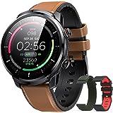 Hommie Montre Connectée Homme Smartwatch Sport Etanche IP68 Bracelet Connecté Tensiomètre Cardiofréquencemètre Podomètre Fitn