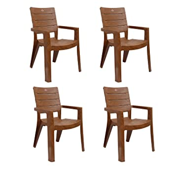 Superior Cello Jordan Set Of 4 Chairs (Sandalwood Brown)