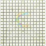 Regla para patchwork, 38,1 x 38,1 cm