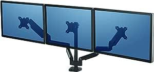 Fellowes Monitorarm Für 3 Bildschirme Bis Je 27 Zoll Computer Zubehör