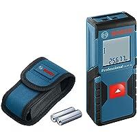 Bosch Professional Laser Entfernungsmesser GLM 30 (Ein-Knopf-Bedienung, max. Messbereich: 30 m; 2x 1,5-V Batterien…