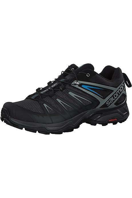 Salomon X Ultra 3 GTX, Zapatillas de Senderismo Hombre, Negro (Black/Magnet/Quiet Shade), 41 1/3 EU: Amazon.es: Zapatos y complementos