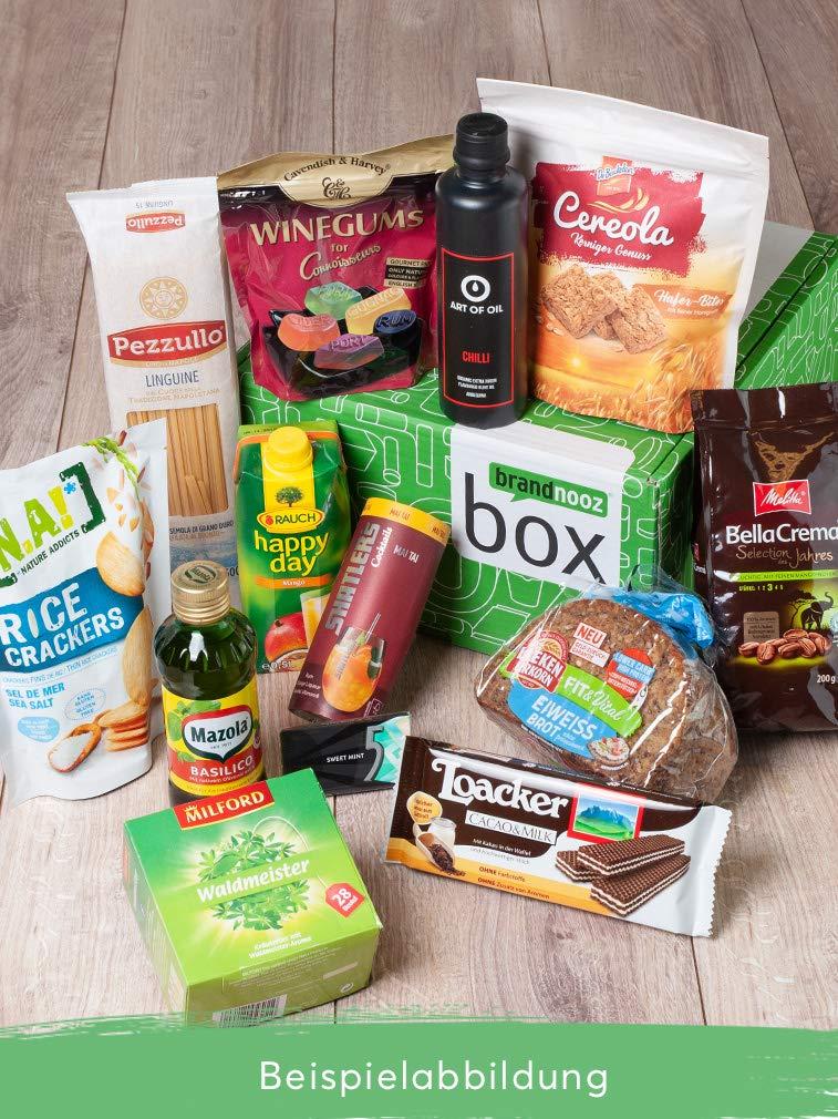 brandnooz - Überraschungsbox| leckere Geschenkbox| Essen | Trinken| leckere Lebensmittelneuheiten von bekannten Marken | garantierter Warenwert von mind. 22€ 15