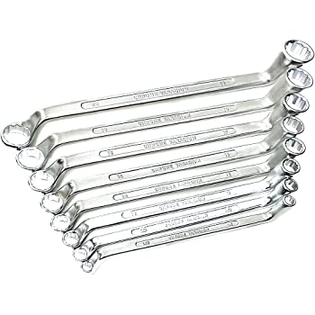 12x14mm 517.0845 Ks/_Tools Doppelringschlüssel gekröpft