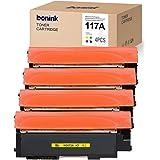 [Con chip] Bonink 4 compatible con HP 117A W2070A - W2073A Tóner para HP Color Laser MFP 179fnw 178nwg HP Color Laser 150nw (