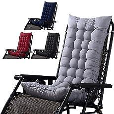 XISTORE Sonnenliege Kissen Lounge Stuhl Kissen Liege Liege Gepolstert  Liegestuhl Liegestuhl Dicke Auflage Ersatz Kissen Sitzbezug