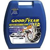 "Goodyear 77932 ""12mm"" Chaines à neige 12 mm, Taille 230, Convient pour les SUV, véhicules utilitaires, 4x4, Homologation TUV"