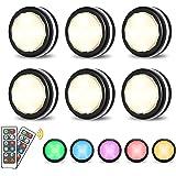 Elfeland RGB Led nachtlampje met afstandsbediening Kastverlichting Onderkastlamp Kastlamp Kastverlichting Kastverlichting Wer