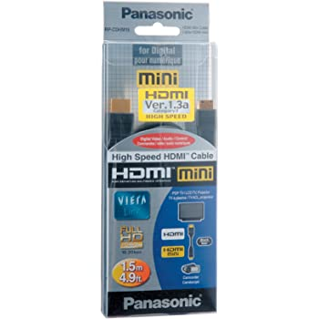 Buy Panasonic Rp Cdhm15 High Speed Hdmi Cable Online At