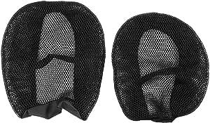 Qiilu Motorrad Sitzbezug Nylon Breathable Motorrad Sitzbezug Mesh Protector Passend Für R1200gs Wasserkühlung Auto