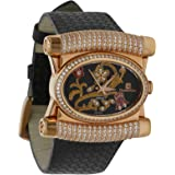 Christian Geen Analog Watch For Women - Leather, Black - 4208Llrn-Wh