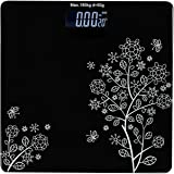 Piesome Electronic Thick Tempered Glass LCD Display Digital Personal Bathroom Health Body Weight Weighing Scales For…