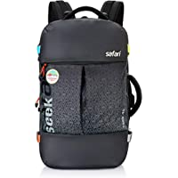 Safari 45 Ltrs Black Large/Travel/Office Laptop Backpack (Seek 45L 21 OB BLK)