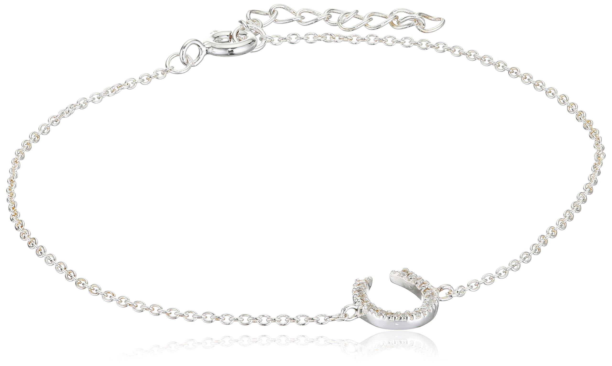 Elements Silver - Bracciale da donna con zirconia cubica, argento sterling 925, 220 mm, cod. B4227C