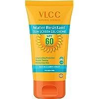 VLCC Water Resistant Sunscreen Gel Creme, SPF 60, 100g