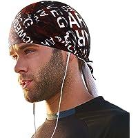 Arcweg Cycling Pirate Bandana Skull Cap Hat Sweat Wicking Beanie Sun UV Protection Quickly Dry Under Helmet Cycling…