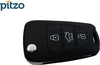 Pitzo Pit 103A6 Replacement 3 Button Remote Flip Car Key Shell for Hyundai i20